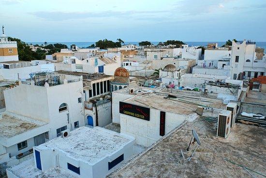 Medina of Hammamet: Городок сверху.