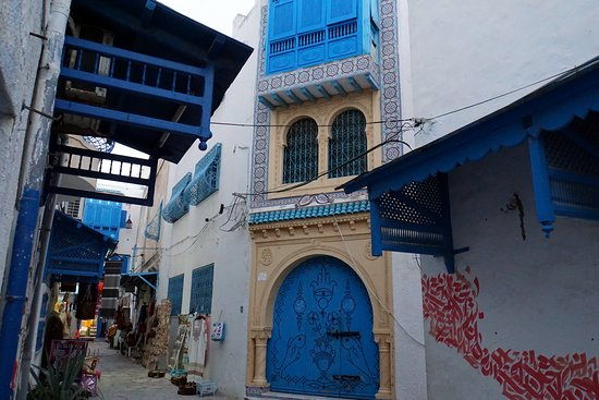 Medina of Hammamet: Залюбуешься.