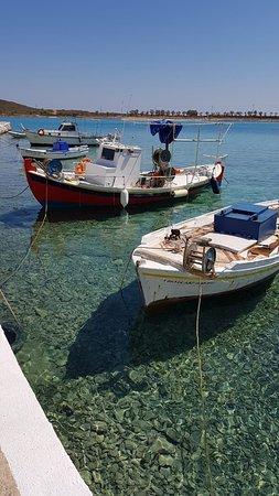 Diakofti, Grecja: Очень чистая вода