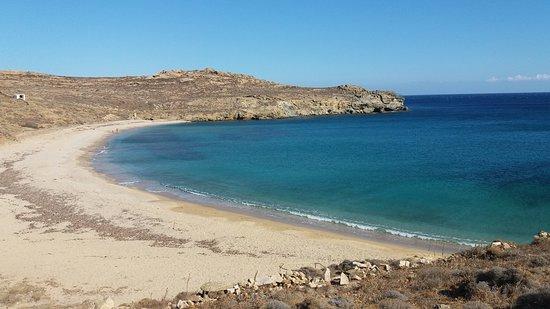 Kalafatis, Grecja: Η πιο απομονωμενη νοτια παραλια της Μυκονου,παραδεισος ησυχιας!!!5 λεπτα περπατημα απο το παρκιν