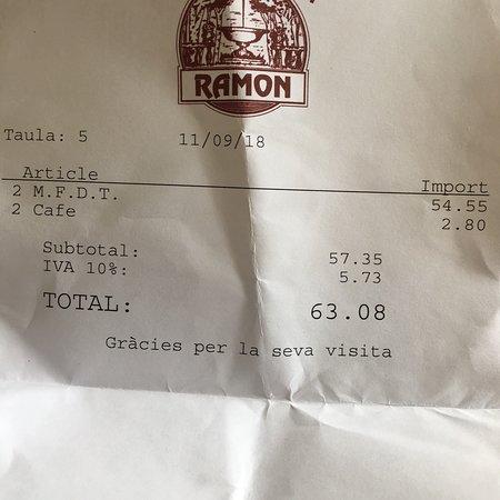 Restaurant Ramon Photo