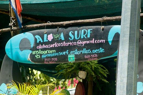 Aloha Surf Esterillos Oeste.