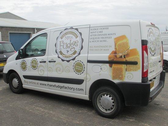 Ballasalla, UK: The van