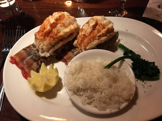 Middle Grounds Grill: Lobster tail