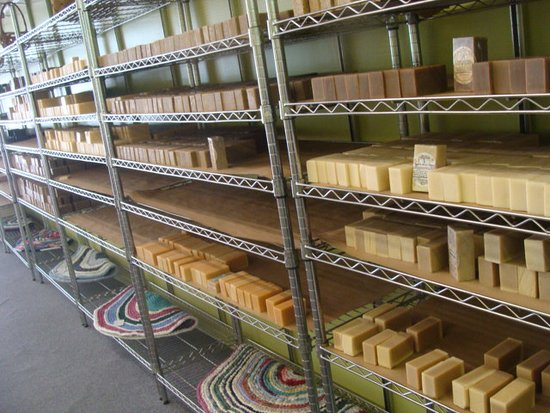 Galax, Wirginia: We have goat's milk soap available in 18 varieties !
