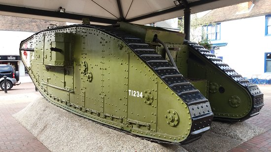 The Ashford - Tank WW1