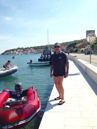 Jezera, Croacia: Bootstour