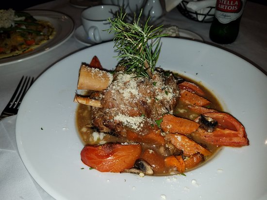 The Brentwood Restaurant & Wine Bistro: Osso Bucco $27