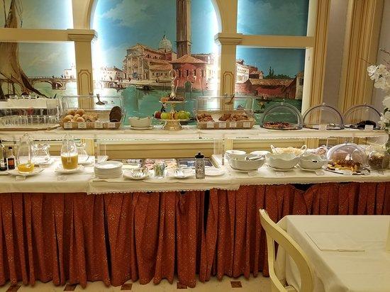 Superb Breakfast Buffet Picture Of Hotel Colombina Venice Download Free Architecture Designs Lukepmadebymaigaardcom