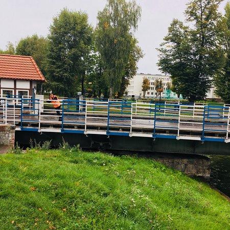 Gizycko Swing Bridge