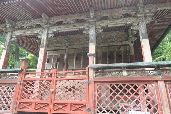 Tanzan Shrine: 日本最古の総社といわれる総社本殿。本殿の建物は移築されたものですが。