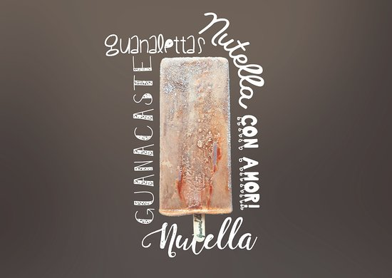 Filadelfia, Costa Rica: Nuestra Paleta de Nutella! Especial para los amantes del Chocolate! <3