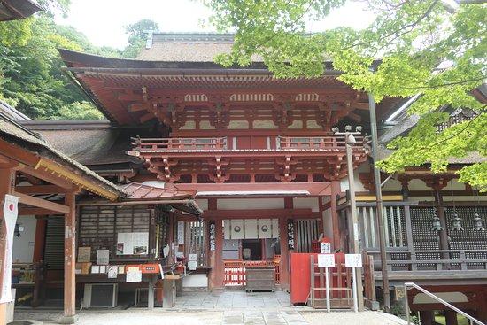 Tanzan Shrine: 談山神社拝殿。ぜひ中に入りましょう!!
