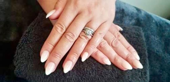 Ombré Sculpted Acrylic Nails , Picture of No. 10