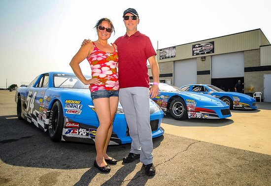Irwindale, كاليفورنيا: Stock Car Driving Experience at the Irwindale Speedway