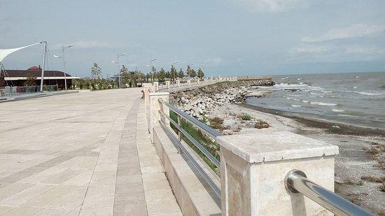 Astara, Aserbaidschan: Boulevard