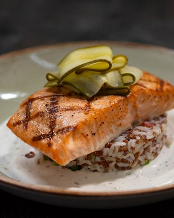 Hard Rock Cafe: Grilled Salmon-LTO
