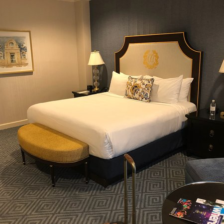 Gracious staff and well appointed room