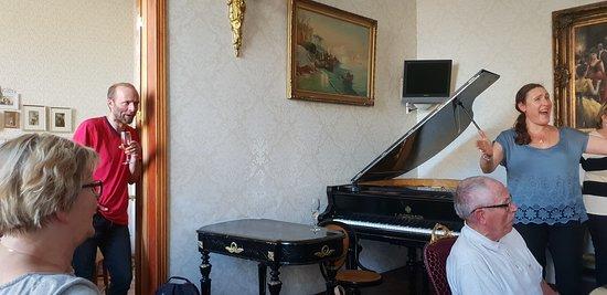 Бутик-отель Рахманинов: Piano i spisesalen