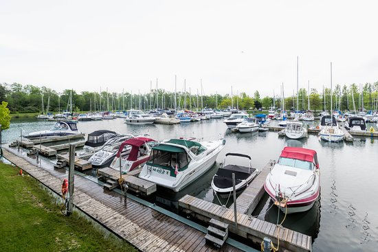 Fifty Point Conservation Area: Fiftypoint marina