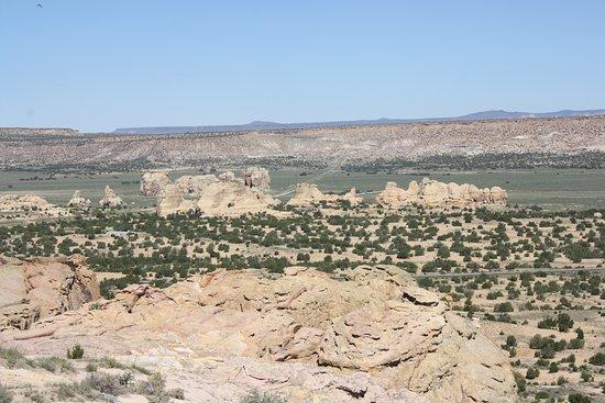 Pueblo of Acoma, Нью-Мексико: formations