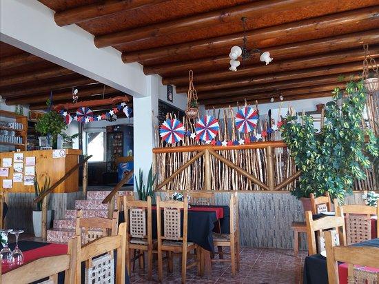 Vichuquen, Χιλή: Lugar interior, entrada.