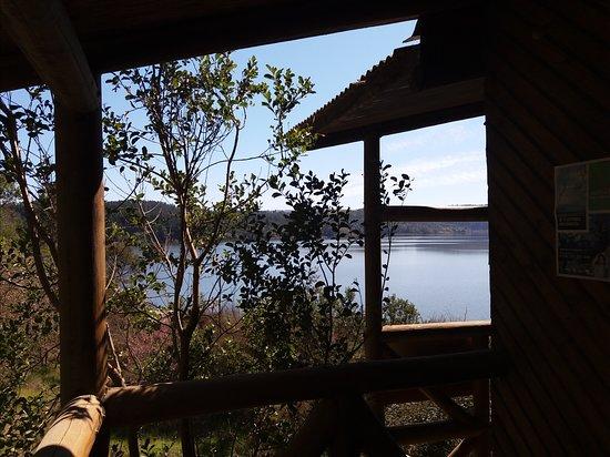 Llico, ชิลี: Vista laguna