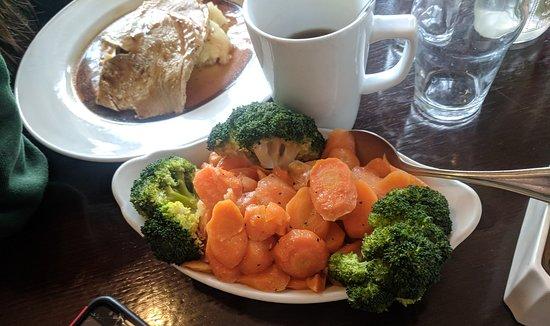 Castlebaldwin, Ireland: Look at those fresh vegies
