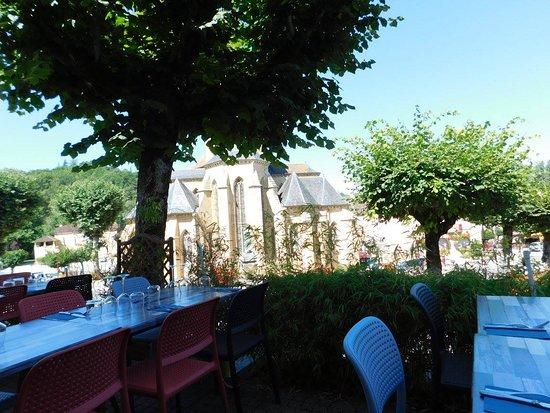 Le Vigan, Frankreich: vue de la terrasse