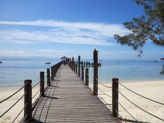 Tunku Abdul Rahman Marine Park: 上島棧道