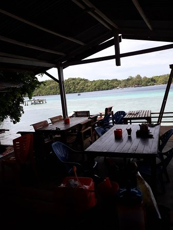 Iboih, إندونيسيا: Sea view