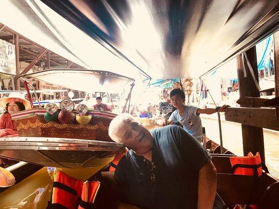 boat traffic jam - Picture of My Tour Guide Bangkok, Bangkok