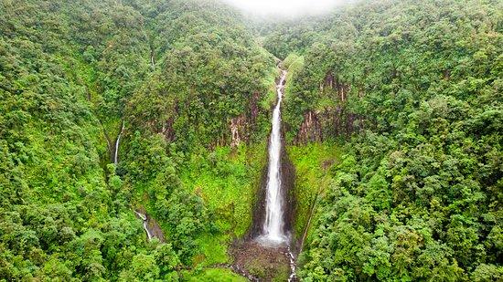 Parc National, Guadeloupe: La deuxième chute du Carbet