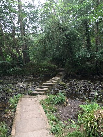 Egton, UK: Stepping stones across the river
