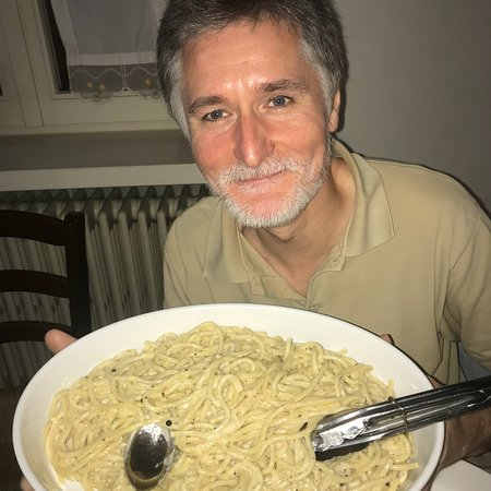 Cacio e pepe. Fabio Cremona ( il presidente)