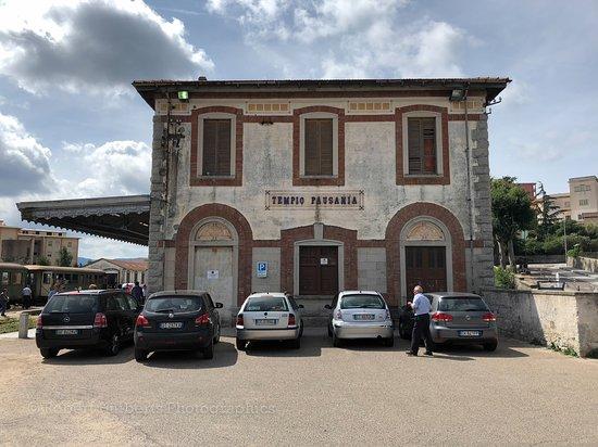 Gairo, Italy: Oude stationnetje on Tempio Pausania