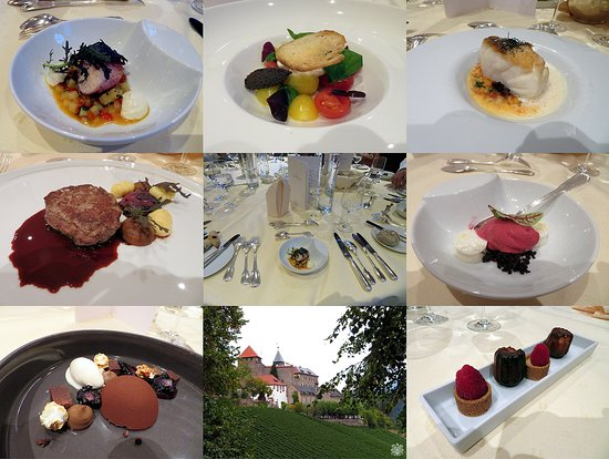 Gernsbach, Germany: An impression of the dining at Schloss Eberstein