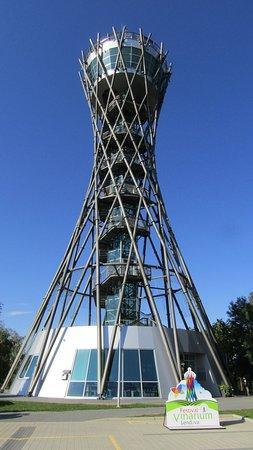 The Vinarium Tower (also: Vinarium Lendava, the Pannonian Lighthouse or the Pomursko Eiffel Towe