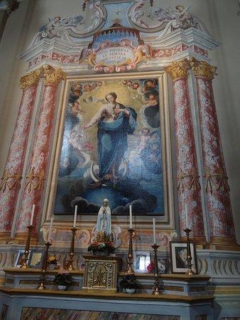Santuario di San Magno: een van de schilderijen in de kerk