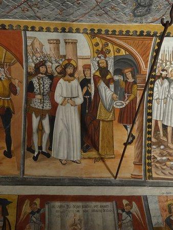 Santuario di San Magno: een thema van de plafondschilderingen
