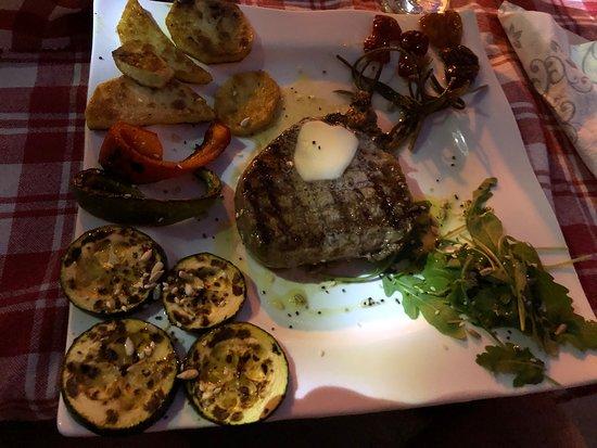 Opuzen, โครเอเชีย: Beefsteak