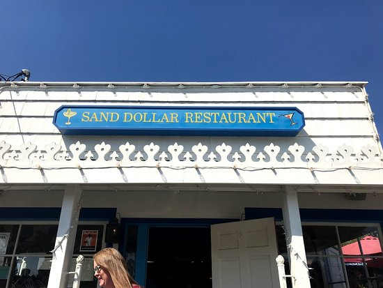Sand Dollar Restaurant: They had indoor seating, but I'm not sure who would sit there