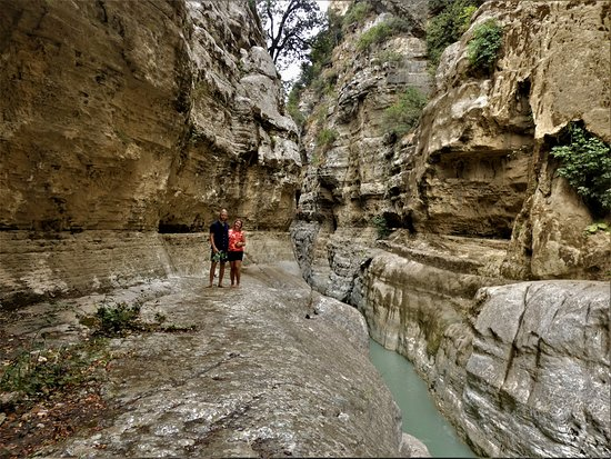 Berat, Albania: inside the Canyon