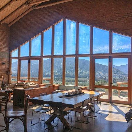 Lolol, Cile: Casa de la viña Hacienda Araucano, Francois Lurton