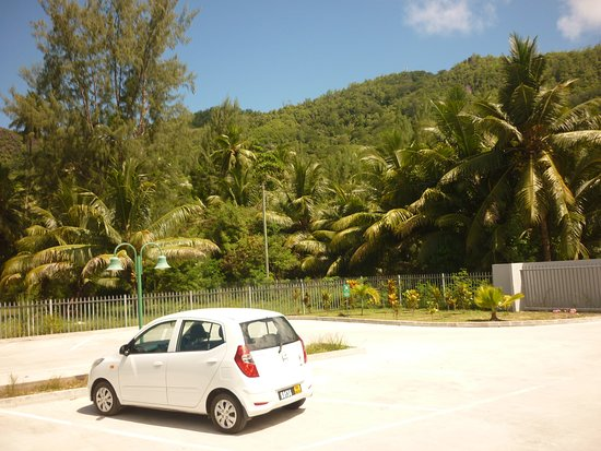 Anse Forbans, Seychelles: parking