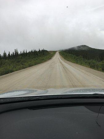 Top of the World Highway: strada sterrata in buone condizioni