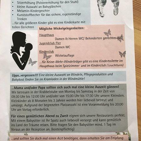 Goehren-Lebbin, Γερμανία: Siehe Bewertung Urlaub mit zwei Kindern 3 Jahre und 8 Monate! Zur Info dass man nicht alles mits