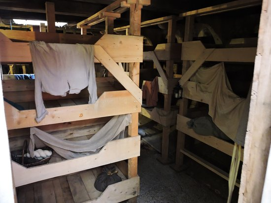 Pictou, Canada: Intérieur du Hector