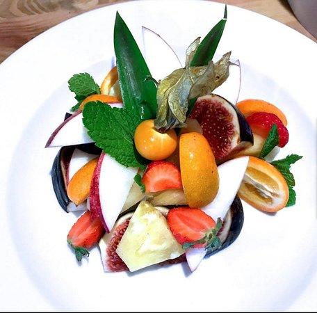 Notre salade de fruits éxotiques
