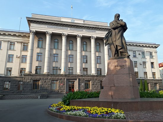 T.G. Shevchenko Monument